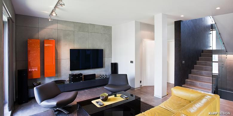 KLIFF DESIGN_Apartament ORANGE_aranżacja wnętrz_