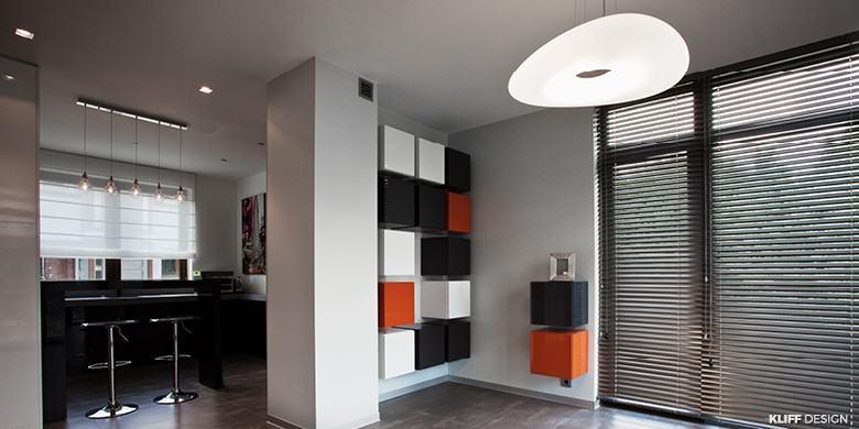 KLIFF DESIGN_Apartament ORANGE_aranżacja wnętrz_2